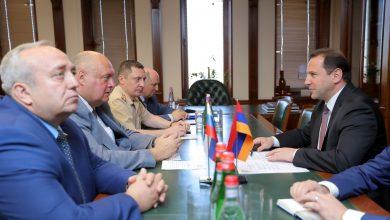 Photo of ՀՀ պաշտպանության նախարարն ընդունել է ՌԴ Դաշնային ժողովի պատվիրակությանը