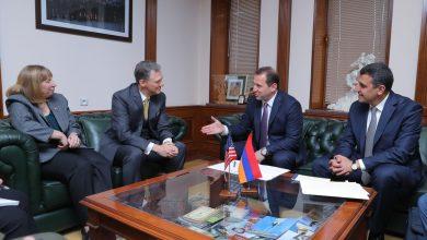 Photo of Քննարկվել են պաշտպանության բնագավառում հայ-ամերիկյան երկկողմ համագործակցությանն առնչվող հարցեր