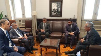 Photo of Встречи  делегации Арцаха в  парламенте Аргентины