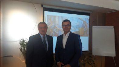Photo of Դեսպան Հովակիմյանի հանդիպումը Պրահայի միջազգային օդանավակայանի տնօրենների խորհրդի նախագահի հետ
