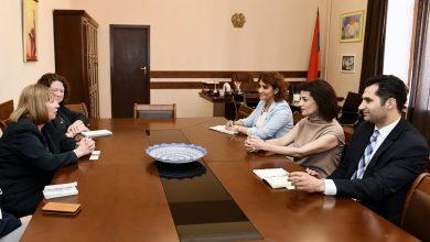 Photo of Աննա Հակոբյանը հյուրընկալել է ՀՀ-ում ԱՄՆ դեսպան Լին Թրեյսիին