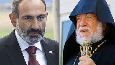 Photo of Никол Пашинян имел телефонный разговор с Католикосом Великого Дома Киликийского Арамом I