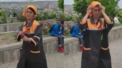 Photo of «Սանիթեքի» պարող աշխատակցուհու տեսանյութը դարձել է  հիթ համացանցում