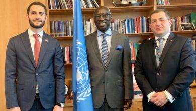 Photo of Ռուբեն Ռուբինյանի հանդիպումը Ցեղասպանության կանխարգելման հարցերով ՄԱԿ-ի Գլխավոր քարտուղարի հատուկ խորհրդական Ադամա Դիենգի հետ