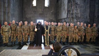 Photo of Սյունիքի մարզի զինծառայողներն այցելել են «ՏաԹևեր» ճոպանուղի և Տաթևի վանական համալիր