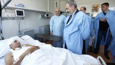 Photo of Վարչապետն այցելել է ՊՆ կենտրոնական կլինիկական զինվորական հոսպիտալ