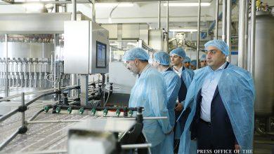 Photo of Վարչապետը ծանոթացել է «Արարատ Գրուպ» ջրերի գործարան ներդրումային ծրագրերին