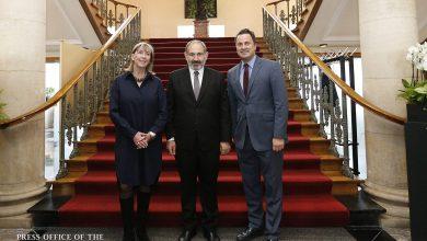 Photo of Состоялась встреча Никола Пашиняна и Ксавье Беттеля: Армения и Люксембург придадут новый импульс двустороннему сотрудничеству