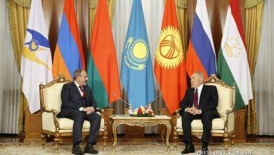 Photo of Նիկոլ Փաշինյանը հանդիպել է Նուրսուլթան Նազարբաևի հետ