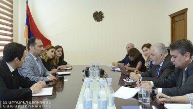 Photo of ԵԱՀԿ-ն աջակցում է հակակոռուպցիոն պայքարին. Ա. Զեյնալյանը հանդիպել է եվրոպական կառույցի ներկայացուցիչներին
