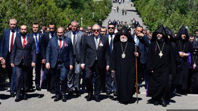 Photo of Վարչապետը Սարդարապատում մասնակցել է Հանրապետության տոնին նվիրված տոնակատարությանը. պաշտոնական