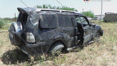 Photo of Խոշոր ավտովթար Արմավիրի մարզում. բախվել են Mercedes-ն ու Mitsubishi Pajero-ն. վերջինն էլ կողաշրջվելով՝ հայտնվել է բնակչի հողամասում. կա վիրավոր