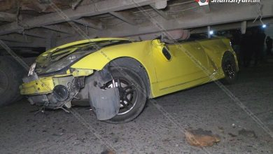 Photo of Արարատի մարզում երիտասարդը Toyota-ով հայտնվել է կցորդիչի տակ
