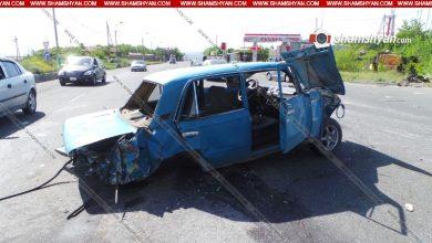 Photo of Խոշոր ավտովթար Երևանում. բախվել են Mercedes-ները, Toyota-ն, Hyundai-ը և Ջորին. կան վիրավորներ. ավտոմեքենաներից 3-ը վերածվել են մետաղե ջարդոնի