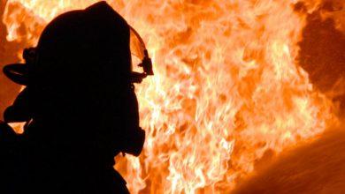 Photo of Գյումրիում`  ծննդատան մոտակայքում,այրվում է մթերային խանութ, ներսում կա քաղաքացի