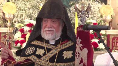 Photo of «Арцах должен присоединиться к Армении», — Его Святейшество Католикос Великого Дома Киликийского Арама I