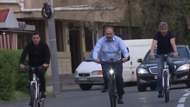 Photo of Премьер-министр Пашинян отправился на работу на велосипеде