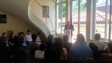 Photo of Мероприятие, посвященное 150-летию со дня рождения Туманяна, в посольстве Армении в Германии