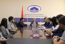 Photo of Глава МИД Арцаха принял делегацию Ливанского университета «Айказян»
