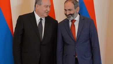 Photo of Армен Саркисян поздравил Никола Пашиняна с днем рождения
