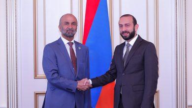 Photo of Спикер НС Армении принял президента Всемирного Совета толерантности и мира