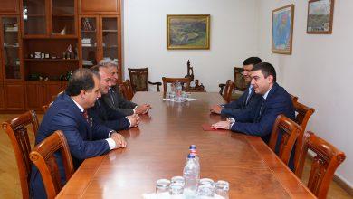 Photo of Արցախի պետնախարար Գրիգորի Մարտիրոսյանը ընդունել է Աբխազիայի  արտաքին գործերի նախարարի գլխավորած պատվիրակությանը