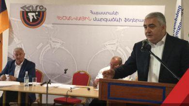 Photo of Հումորով եմ վերաբերվում. Արման Սահակյանը` ֆեդերացիայի նախագահի ընտրությունները կեղծելու մասին