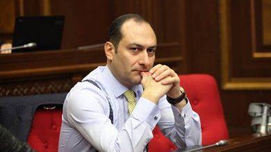 Photo of Артак Зейналян подал в отставку с поста министра юстиции Армении