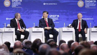 Photo of Почему премьер-министра Армении посадили рядом с руководителями России и Китая