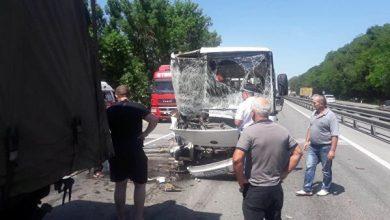 Photo of В ДТП с автобусом под Ростовом пострадали пятнадцать человек