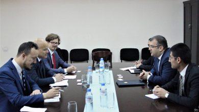 Photo of Հայաստանի ԱԳ նախարարի տեղակալն ընդունեց ԵԱՀԿ գործող նախագահի Հարավային Կովկասի հարցերով հատուկ ներկայացուցչին