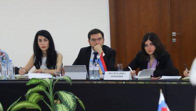 Photo of Կայացել է ԱՊՀ մասնակից պետությունների ԱԳՆ իրավական ծառայությունների ղեկավարների խորհրդակցական կոմիտեի նիստը