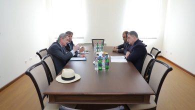 Photo of ՀՀ ԱԳՆ գլխավոր քարտուղարի հանդիպումը Հայաստանում Ուրուգվայի դեսպանի և Հայաստանում Ուրուգվայի գլխավոր հյուպատոսի հետ