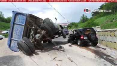 Photo of Բախվել են մեքենաներ. հարսը, փեսան, որոնց հարսանիքն էր լինելու այսօր, հարսնաքրոջ հետ տեղափոխվել են հիվանդանոց