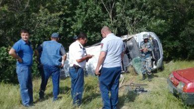 Photo of Արցախից Տաթևի վանք էքսկուրսիայի մեկնող ավտոմեքենան կողաշրջվել է. կան տուժածներ