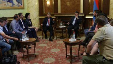 Photo of Վլադիմիր Կարապետյանը և Հրաչյա Թաշչյանը հանդիում են ունեցել ուկրաինական ԶԼՄ-ների և փորձագիտական շրջանակների ներկայացուցիչների հետ