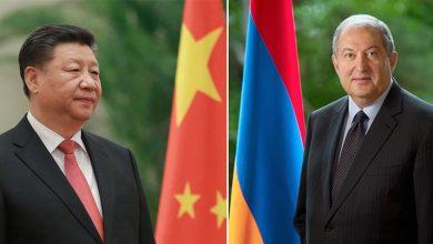 Photo of Մեծ նշանակություն եմ տալիս հայ-չինական հարաբերությունների զարգացմանը․ Սի Ծինփինը շնորհավորել է նախագահ Արմեն Սարգսյանին