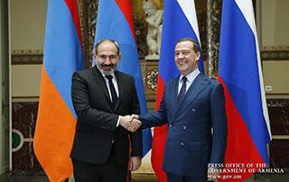 Photo of Председатель правительства Российской Федерации поздравил Никола Пашиняна в связи с днем рождения