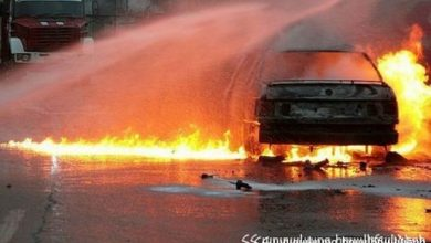 Photo of Ավտոմեքենան ամբողջությամբ այրվել է. տուժածներ չկան