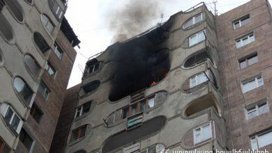 Photo of Երեւանում՝ բնակելի շենքերից մեկում, հրդեհ է բռնկվել. երկու երեխա տեղափոխվել է հիվանդանոց