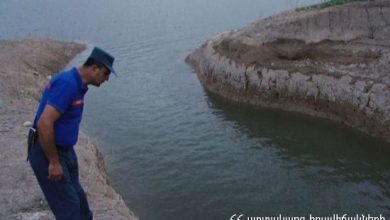 Photo of Չարենցավան քաղաքի ջրավազանում դի է նկատվել
