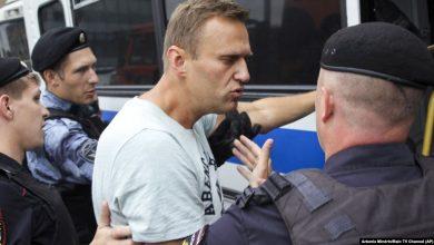 Photo of Алексея Навального оставляют в отделе полиции до утра