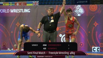 Photo of Арутюн Ованнисян победил азербайджанского борца и вышел в финал