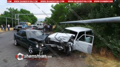 Photo of Խոշոր ավտովթար Կոտայքի մարզում. Նոր Գեղիում բախվել են Mercedes-ն ու Нива-ն. կան վիրավորներ