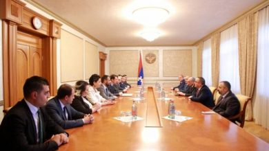 Photo of Встреча с делегацией мэрии Еревана