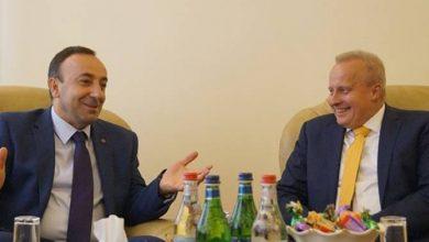 Photo of Հրայր Թովմասյանն ընդունել է Հայաստանում Ռուսաստանի դեսպանին