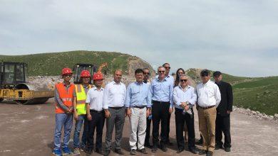 Photo of ԱԶԲ փոխնախագահն այցելել է Հյուսիս-հարավ ճանապարհային միջանցքի Տրանշ-2 և Տրանշ-3 տեղամասեր