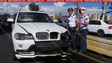 Photo of Ավտովթար Երևանում. Իսակովի պողոտայում բախվել են BMW X5-ը, 2 Opel-ները. կան վիրավորներ