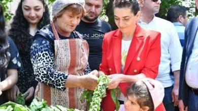 Photo of «И мы участвовали в плетении самой длинной вязки конского щавеля», — Анна Акопян