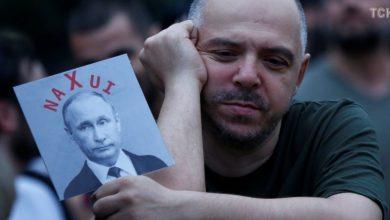 Photo of Բիճո, տանկը ետ տուր. թբիլիսյան ակցիայի կազմակերպիչը ռուսերենով դիմել է Պուտինին